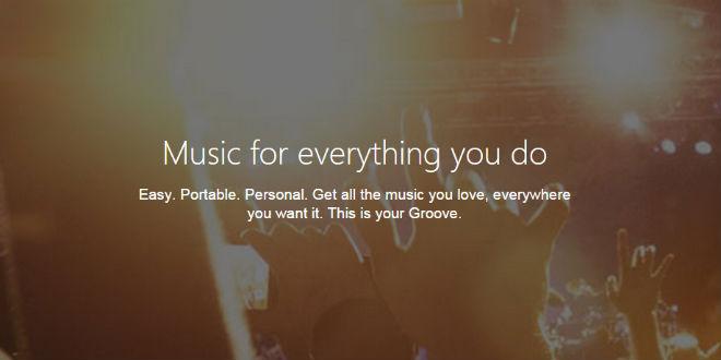 Xbox Music wird zu Groove