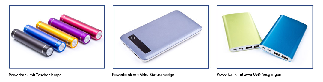 powerbank-modelle